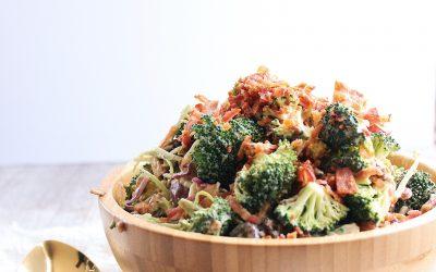 Whole30 Broccoli Salad