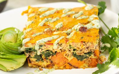 Whole30 Taco Breakfast Casserole