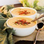 Whole30 Creamy Cauliflower Soup