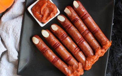 Whole30 Halloween Witch Fingers