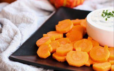 Whole30 Pumpkin Carrots & Ranch