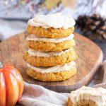 Paleo Pumpkin Sugar Cookies