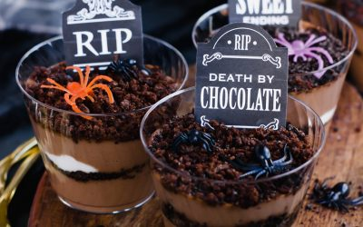 Paleo Tombstone Pudding Cups