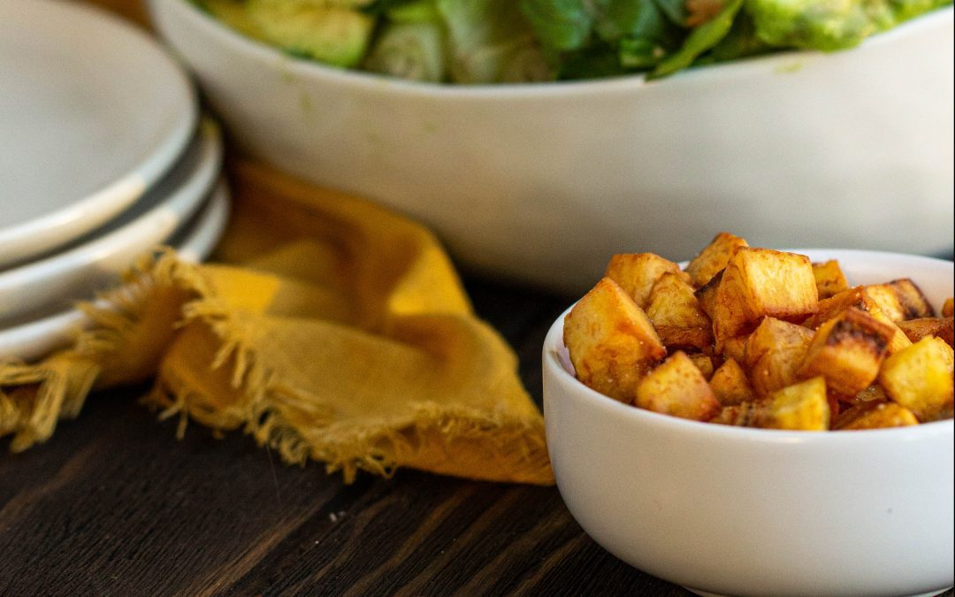 Plantain  Croutons